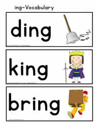 ing Rhyming Words