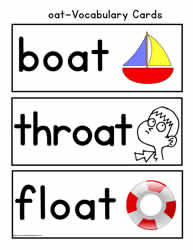 oat Vocabulary Cards