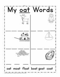 Print oat Words
